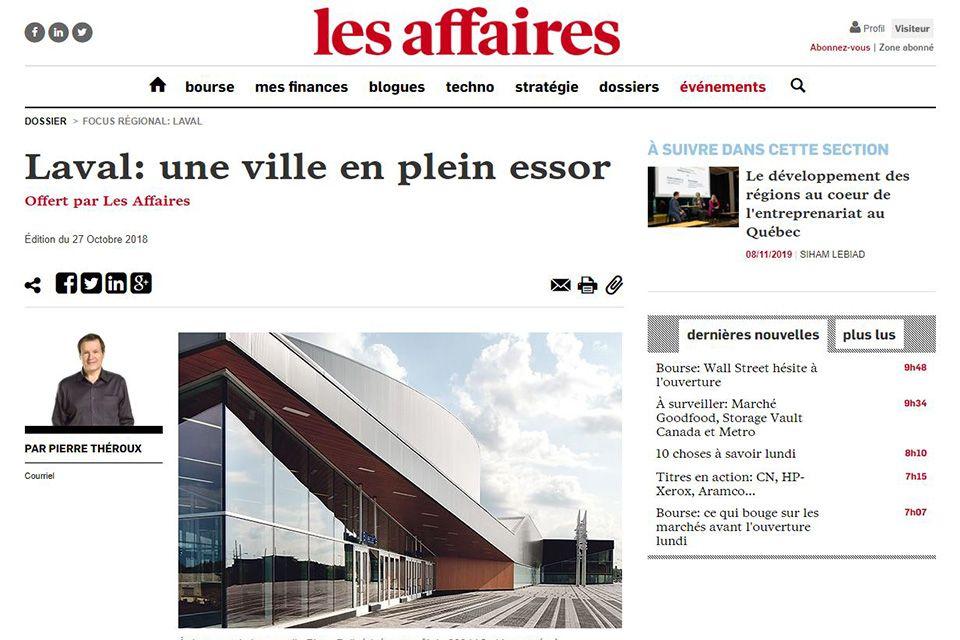 Laval: une ville en plein essor
